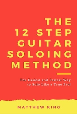 The 12 Step Guitar Soloing Method Kindle Cover 2 WordPress Widget Image Size