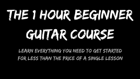 The 1 Hour Beginner Guitar Course Product Image - WooCommerce